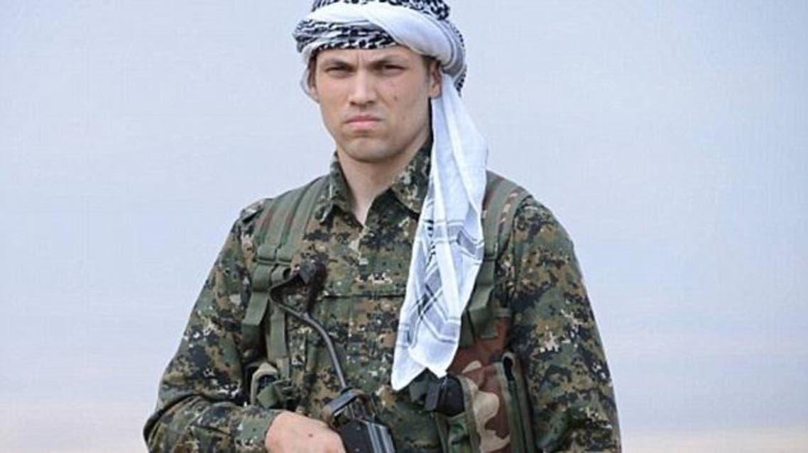 US Soldier in Kurdistan