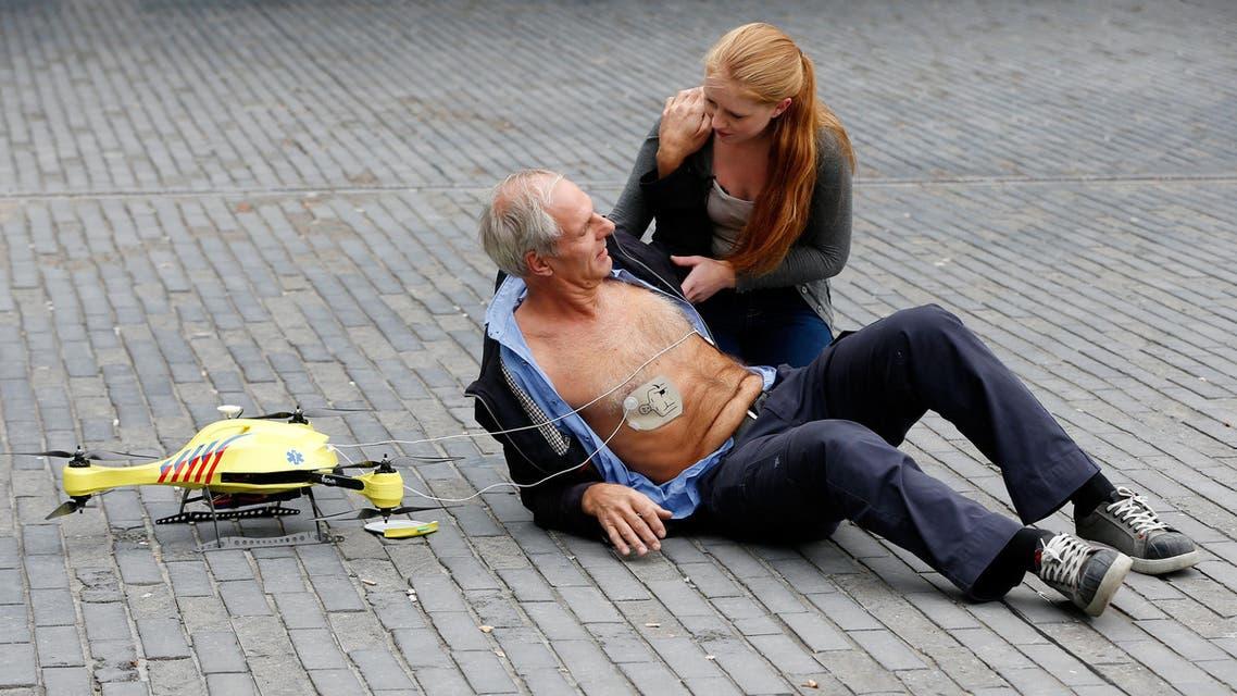 أول طائرة إسعاف بدون طيار في هولندا