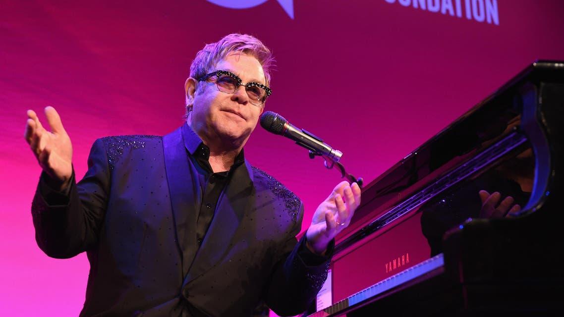 Elton John AFP
