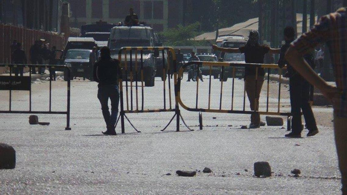 مظاهرات بين الشرطة المصرية وطلاب إخوان