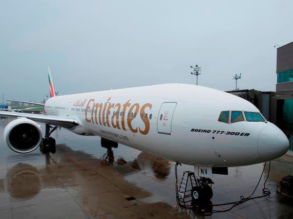طيران الإمارات تستقبل الطائرة الـ100 من أضخم بوينغ