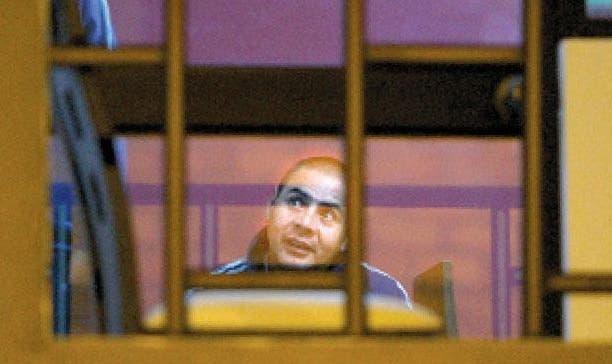 صورة نشرتها وسائل الاعلام البيروفية لمحمد أمادار بعد اعتقاله