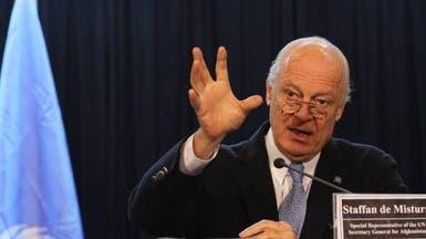 سوريا.. دي ميستورا يقدم خطة للحل من ثلاث مراحل