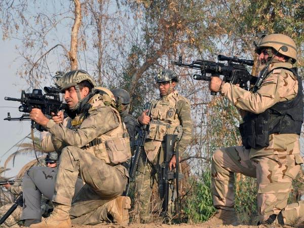 """""""داعش"""" يفجر مقراً عسكرياً في العراق"""