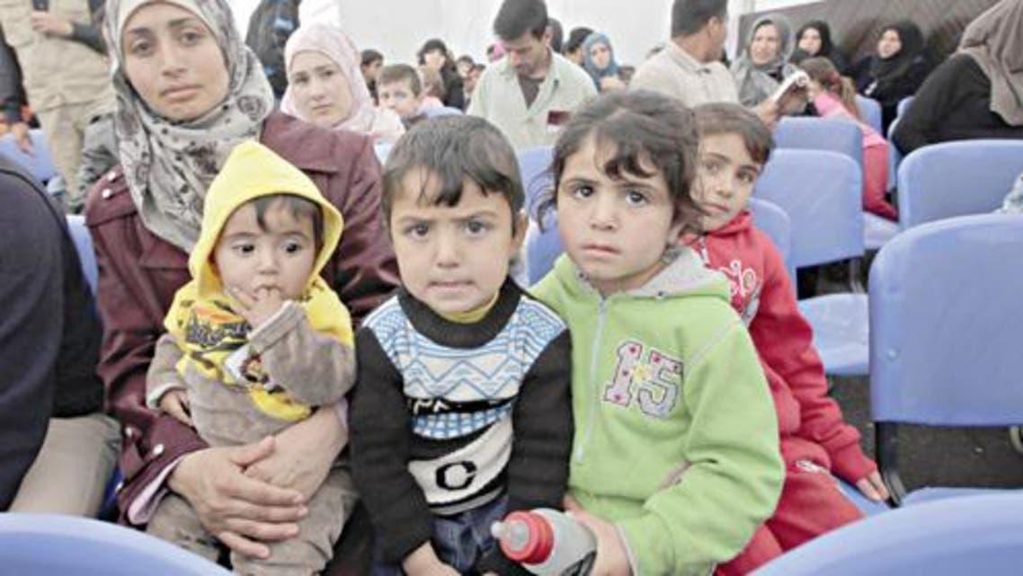 AFP - Refugees syria