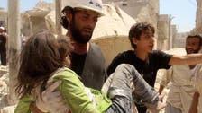 شام: پناہ گزینوں پر بمباری، امریکا کیطرف سے مذمت