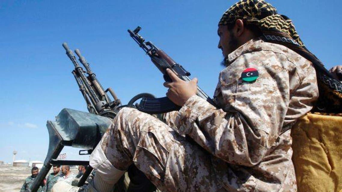 libya soldier reuters
