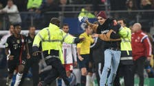 Hamburg file complaint against pitch invader who attacked Franck Ribery
