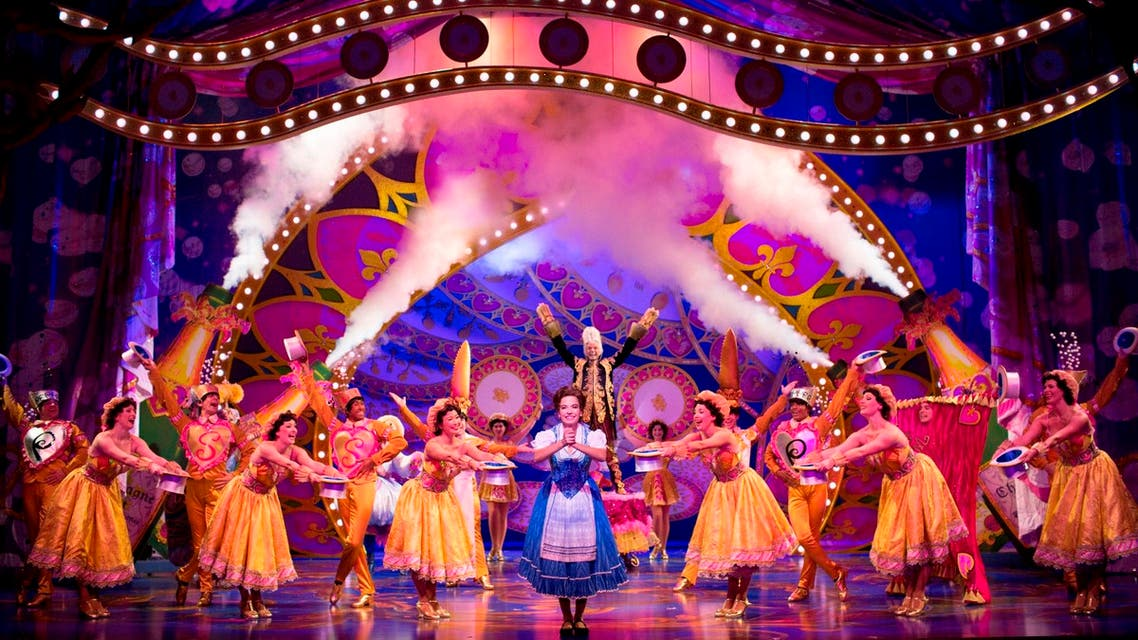 The audience was delighted throughout the show, clapping and laughing at the Beast's funny attempts to be kind to Belle