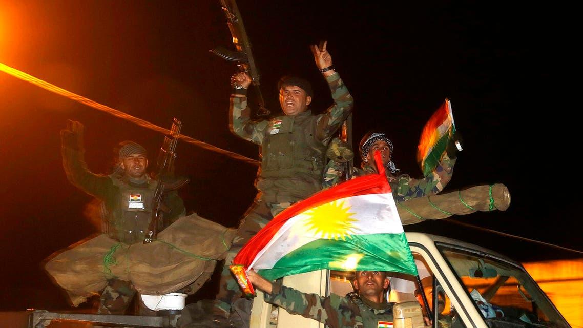 قوات البيشمركة بشمرغة كوباني أكراد
