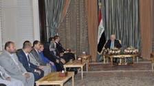 معصوم لوفد نينوى: الاستعدادات جارية لتحرير الموصل