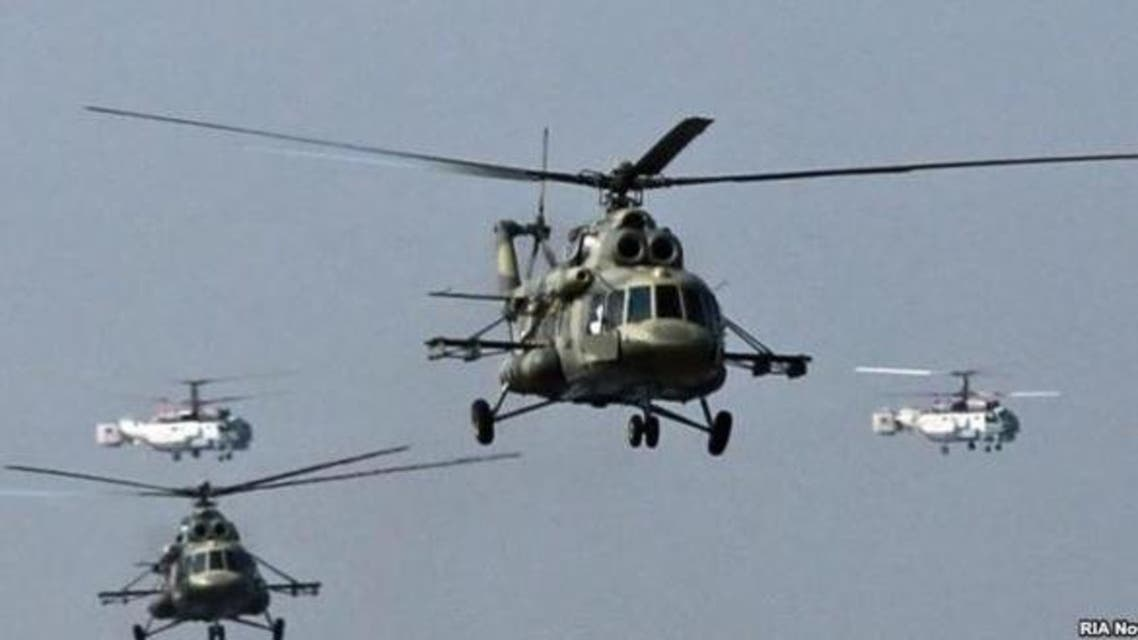 russian copters to Afghanistan