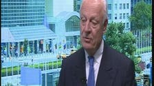 Interview with Staffan de Mistura, U.N. special envoy to Syria