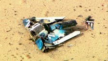 Pictures show Virgin Galactic ship's fatal crash