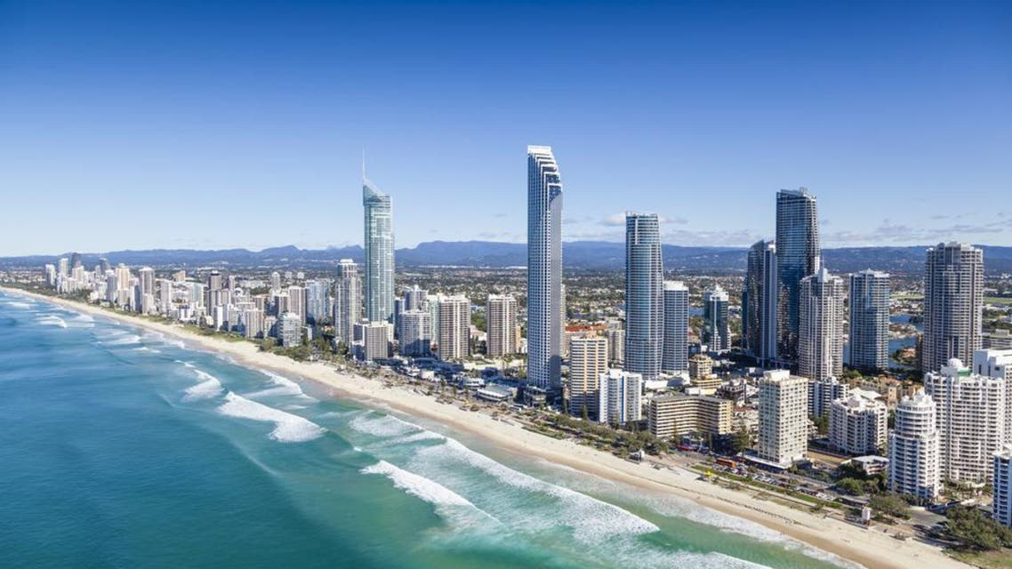 An aerial view of Surfers Paradise on the Gold Coast, Queensland, Australia. (Shutterstock)