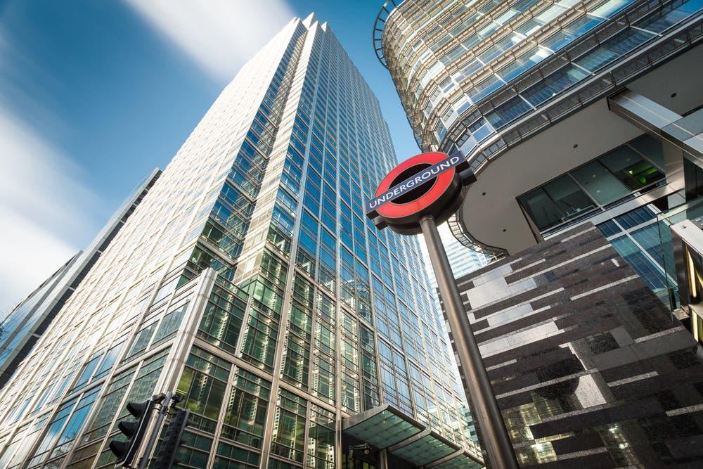 Shutterstock London Canary Wharf
