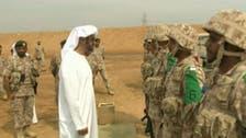 اماراتی ولی عہد کا فوجی تربیتی مرکز کا اچانک دورہ