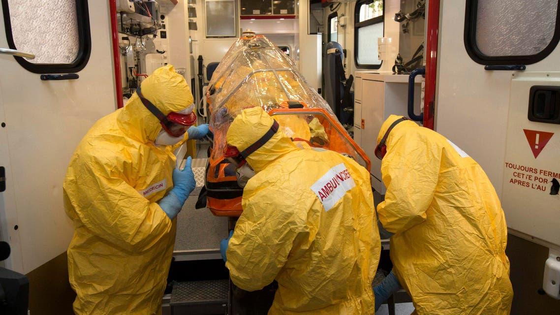 إيبولا في فرنسا