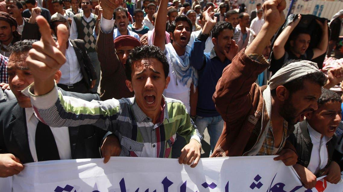 Anti-Houthi protests in Yemen