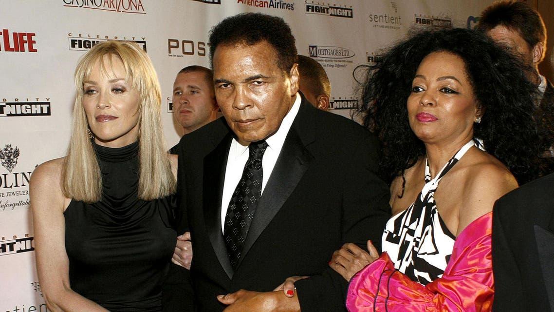Muhammad Ali, Sharon Stone, Diana Ross Shutterstock