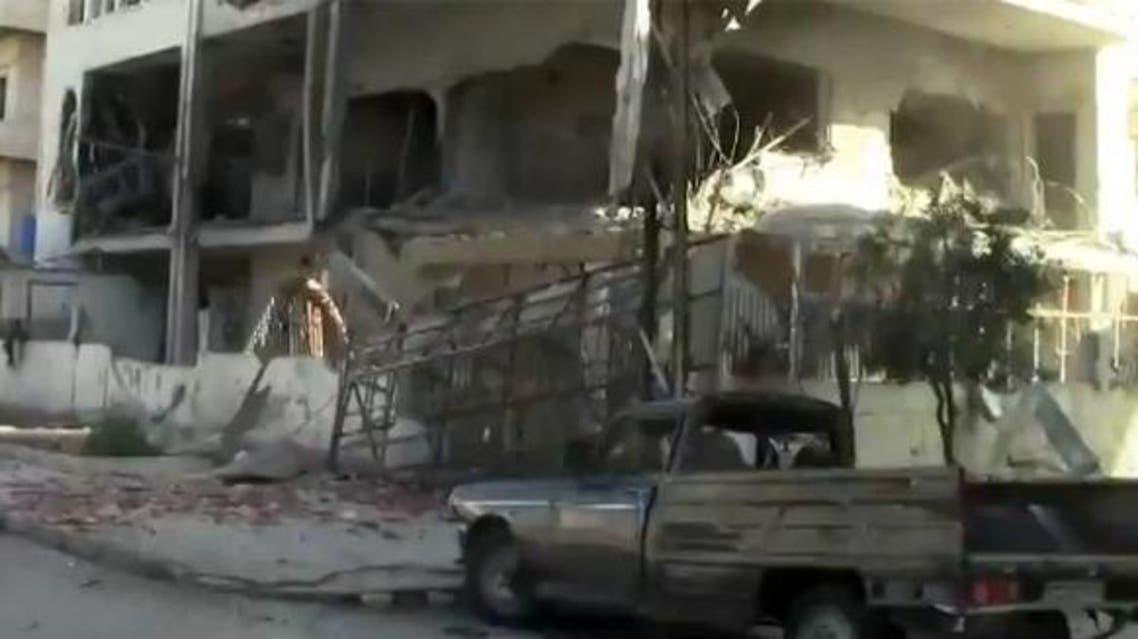 قصف على حمص