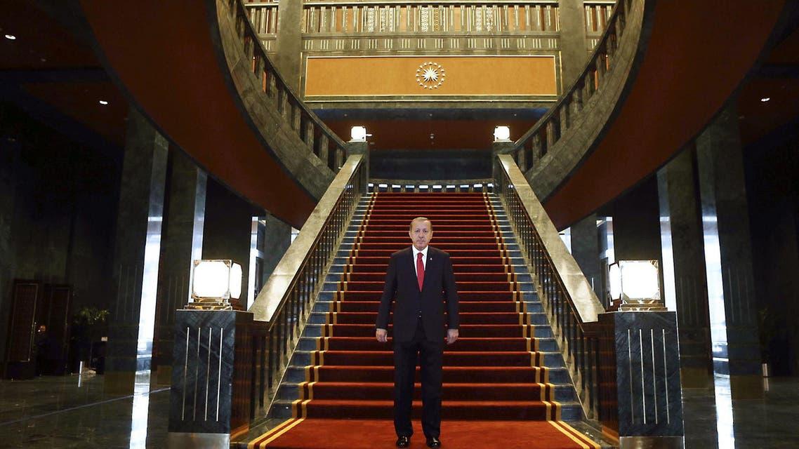 القصر الأبيض القصر الرئاسي قصر رجب طيب أردوغان تركيا