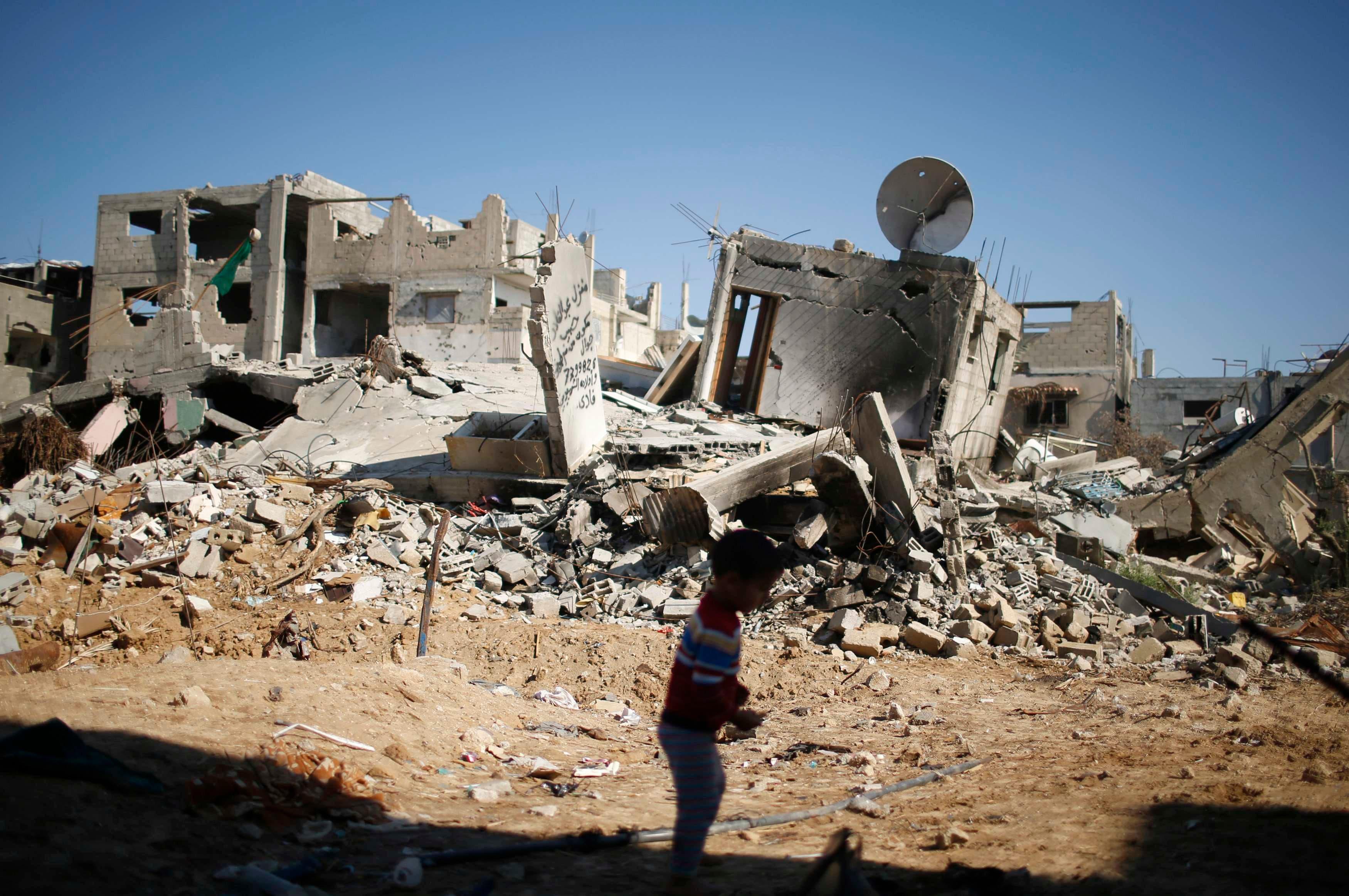 دمار حرب غزة