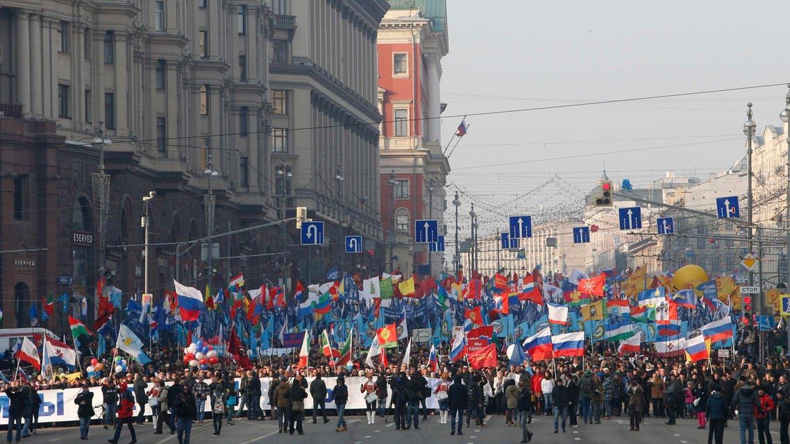 الاحتفال بيوم الوحدة الشعبية الروسية