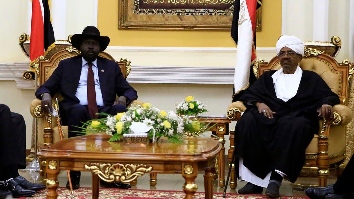 عمر البشير و سلفا كير السودان