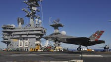 U.S. F-35C jets complete first successful carrier landings