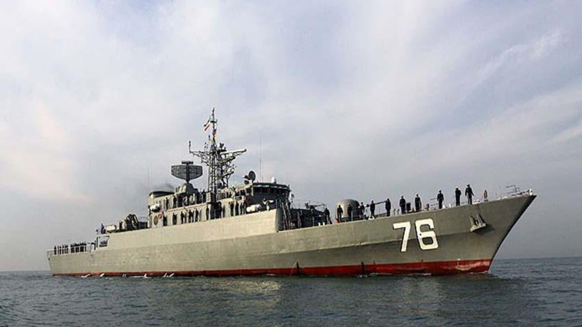 سفينة حربية ايرانية