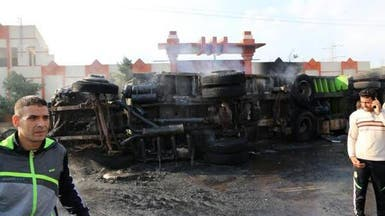 مصرع 18 شخصا بينهم 12 شرطيا في حادث سير في سيناء