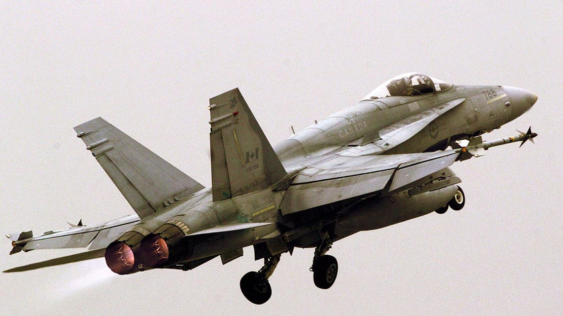 canada fighter jet REUTERS