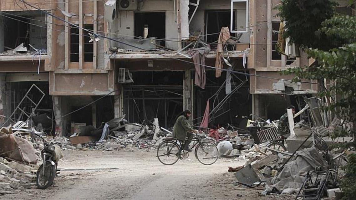 دمار سوريا حي جوبر
