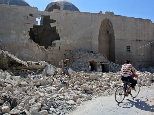 """جبهة حلب """"مشتعلة"""" بين قوات النظام والمعارضة"""