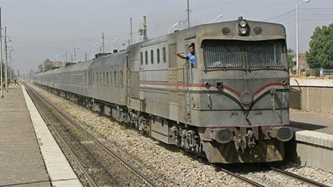 قطار المنوفية مصر
