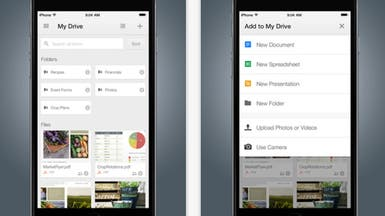 """غوغل تضيف دعم البصمة لتطبيق """"درايف"""" على iOS"""