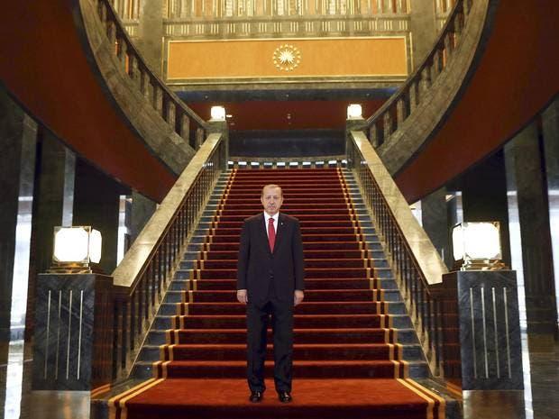 من قصر أردوغان