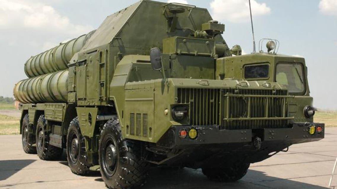 An S-300 surface-to-air missile system.(RIA Novosti / Uriy Shipilov)