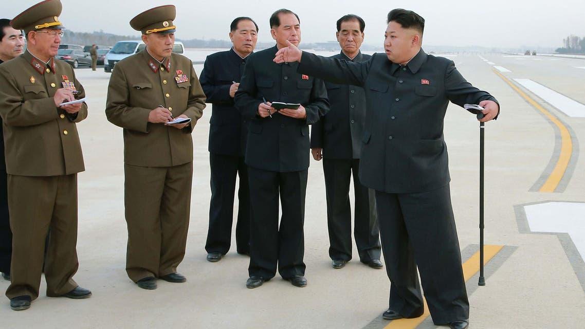 الرئيس الكوري كيم جونغ أون