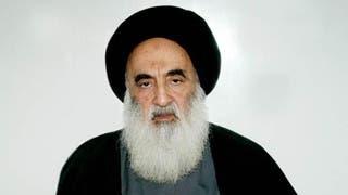 المرجع الشيعي العراقي علي السيستاني