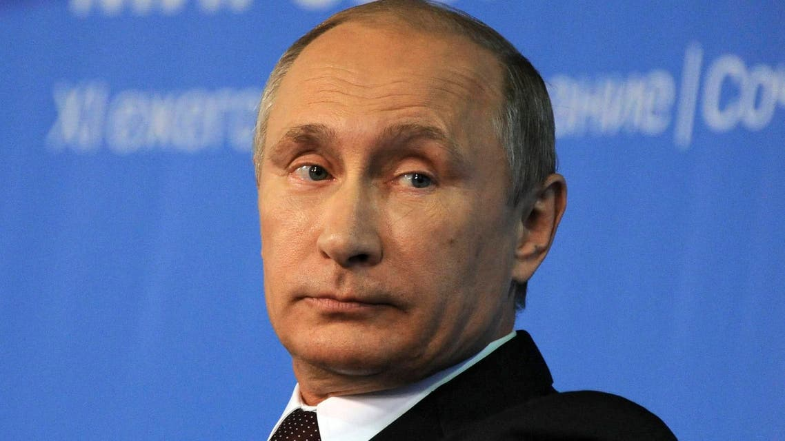 Russia's President Vladimir Putin attends a meeting at the Valdai Discussion Club in Sochi, October 24, 2014.  (Reuters)