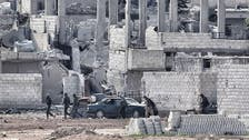 U.S.-led air strikes hit ISIS-held oil field in Syria