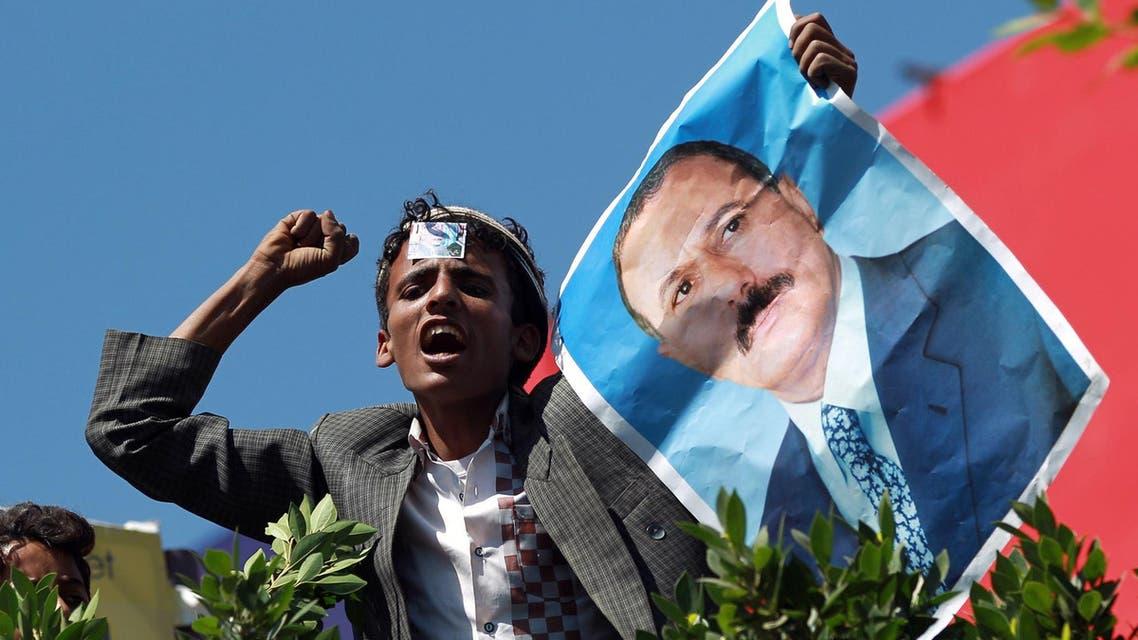 Ali Abdullah Saleh AFP