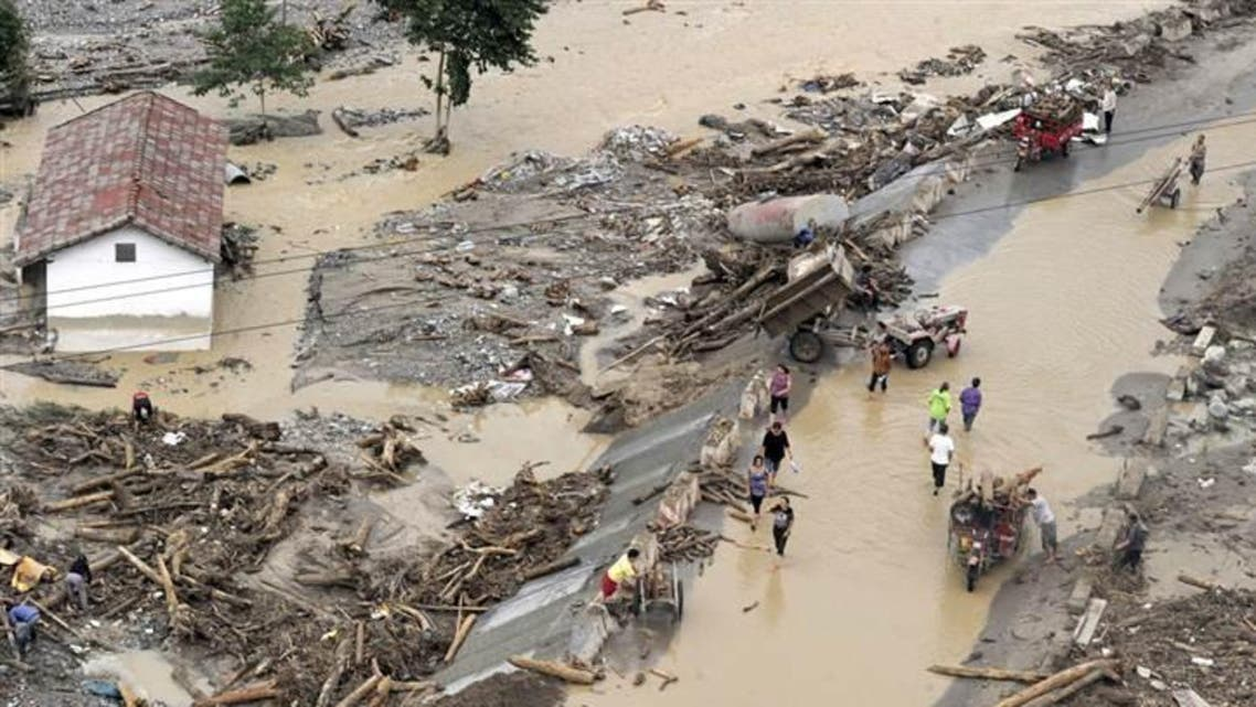 فيضانات كوارث طييعية