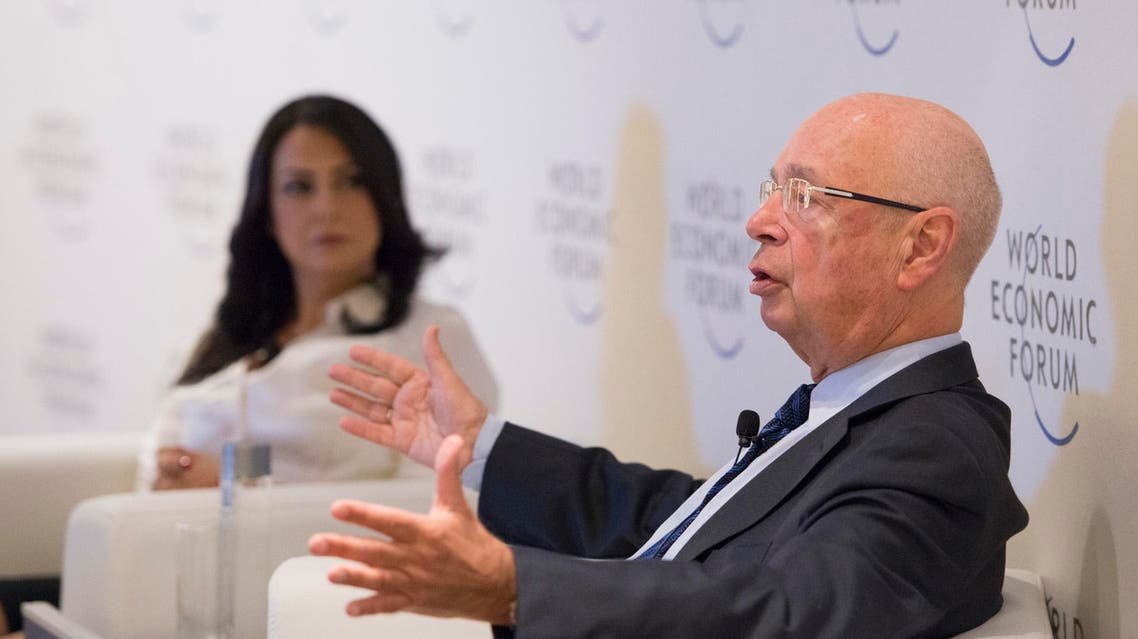 Professor Klaus Schwab, the Founder and Executive Chairman of WEF speaking during a panel part of the Summit on the Global Agenda. (Photo courtesy: WEF)