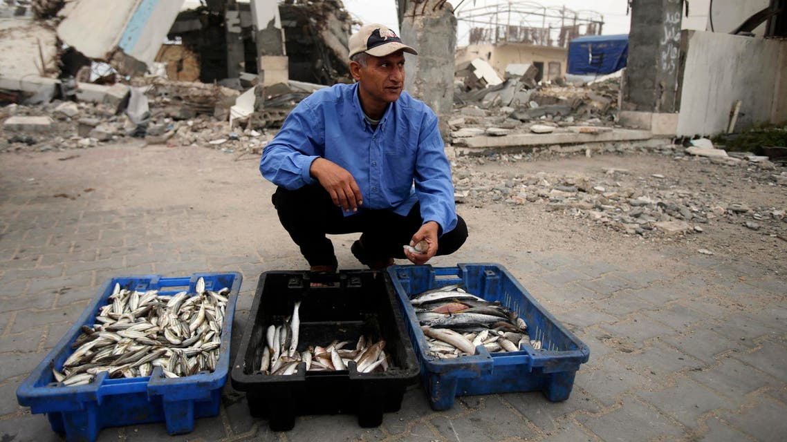 gaza fishing reuters