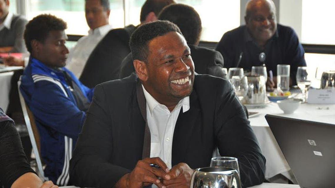 Edmond Bowen, former president of the New Caledonia Football Association. (Photo courtesy: OFC)