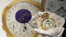 """""""غرايفز"""" أغلى ساعة في العالم ب 15 مليون بمزادات جنيف"""