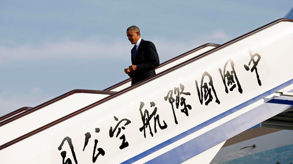 أوباما في الصين بكين بيجين بجين بيكين